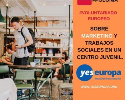Cuerpo europeo solidaridad en Polonia – 12 meses