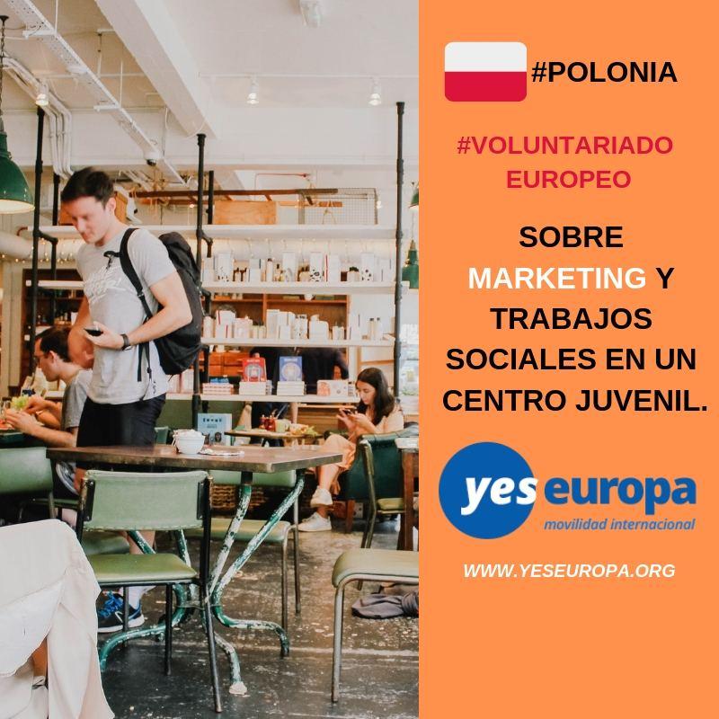 Cuerpo europeo solidaridad en Polonia