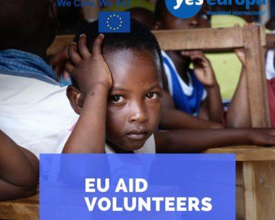 EU Aid Volunteers –  Oportunidades en todo el mundo