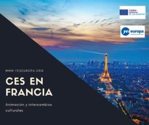 Hacer CES Francia en animación y intercambios culturales