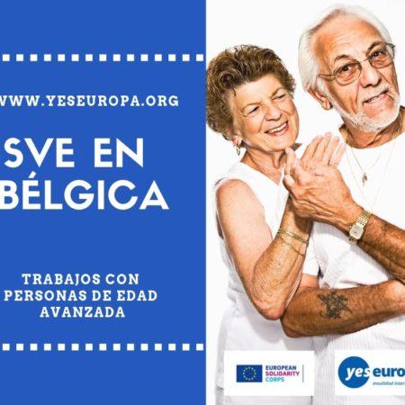 Hacer voluntariado Bélgica con personas de edad avanzada