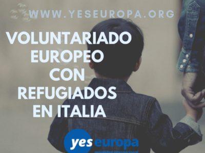 SVE Italia con refugiados y comunidades marginales
