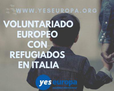 Voluntariado refugiados Italia para 10 meses