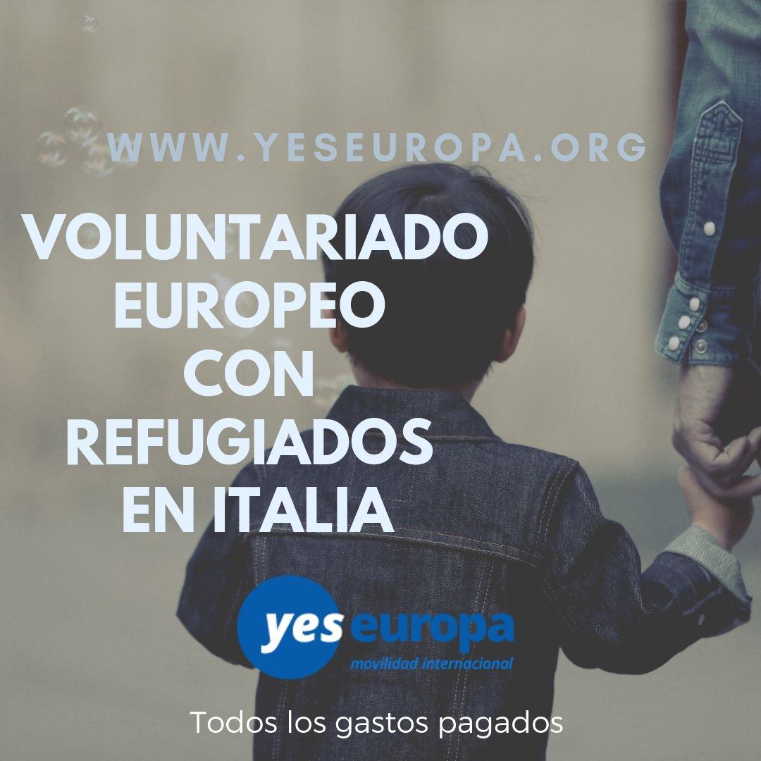 SVE Italia con refugiados