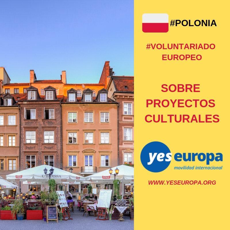 SVE Polonia sobre proyectos culturales