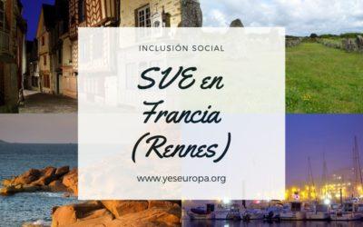 Voluntariado corto en Francia en inclusión social (proyectos de 30 días)