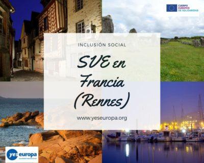 Voluntariado corto en Francia en inclusión social (proyectos de 30 y 60 días)