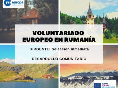 Ser Voluntario CES en Rumanía (desarrollo comunitario)