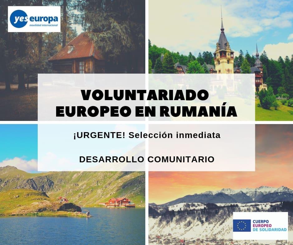 Ser Voluntario CES en Rumanía