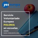 Servicio voluntariado europeo Polonia en escuelas