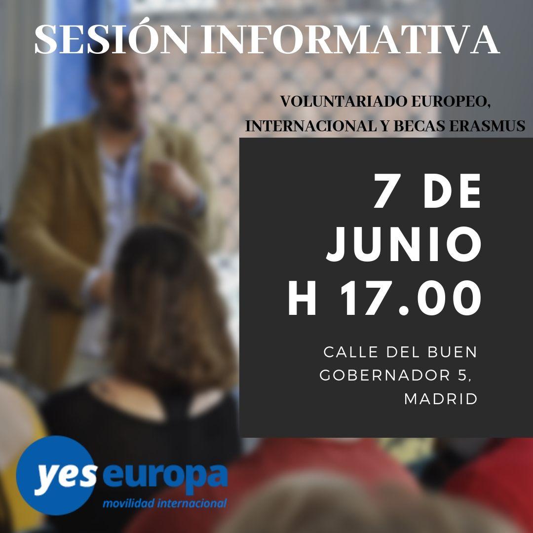Sesión informativa Yes Europa