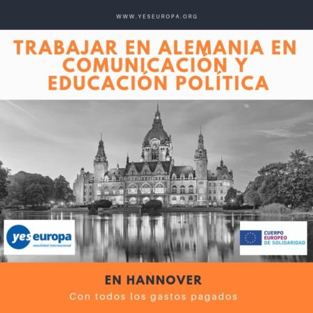 Trabajar en Alemania en comunicación y educación política