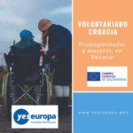 Voluntariado Croacia discapacidad y mayores