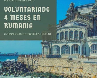 Voluntariado 4 meses en el Mar Negro (Rumanía)
