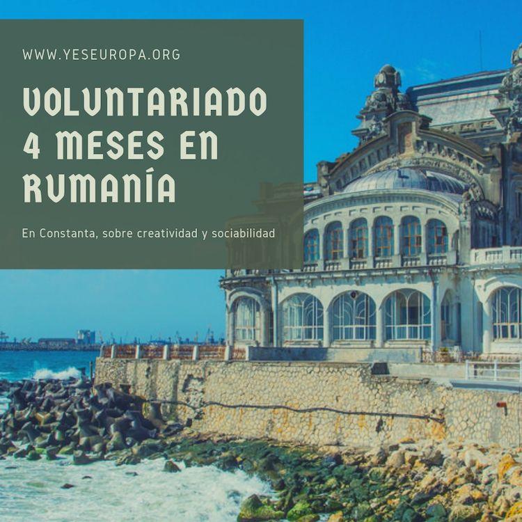 Voluntariado 4 meses en rumanía