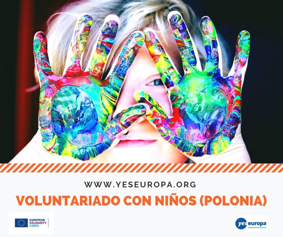 Voluntariado con niños en Polonia