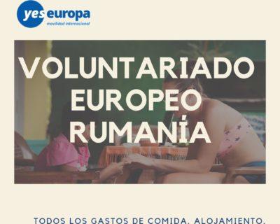 Voluntariado europeo Rumanía en escuelas