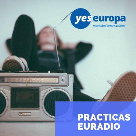 Oportunidades de practicas en Euradio