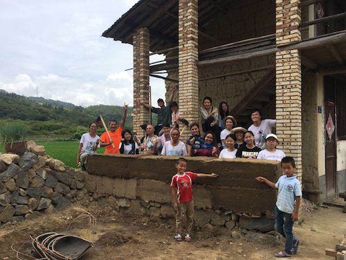 voluntariado china construccion
