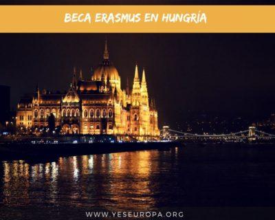 Beca Erasmus plus Hungría en Junio