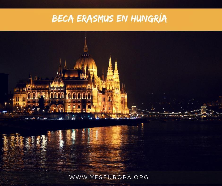 Beca Erasmus plus Hungría