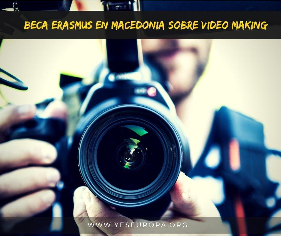 Beca erasmus sobre videomaking