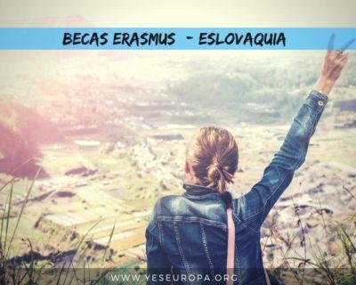 Becas Erasmus+ Eslovaquia en mayo 2019