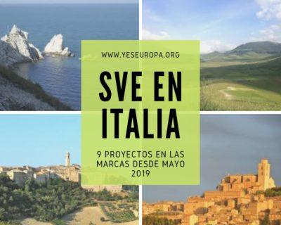 Hacer Voluntariado UE en Italia (11 proyectos SVE disponibles)