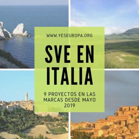 Hacer Voluntariado UE en Italia (9 proyectos SVE disponibles)
