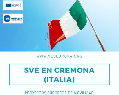 SVE en Cremona (Italia) en proyectos europeos de movilidad
