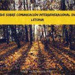 SVE sobre comunicación intergeneracional en Letonia
