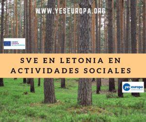 Ser Voluntario Letonia en actividades sociales