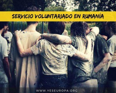 Servicio voluntariado europeo en Rumanía a partir de Agosto