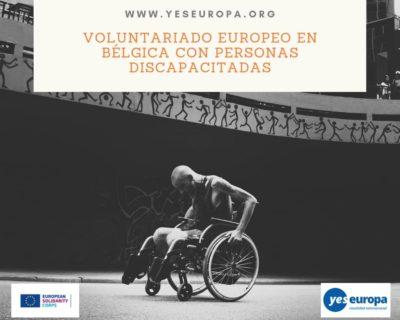 Voluntariado Europeo Bélgica con personas discapacitadas