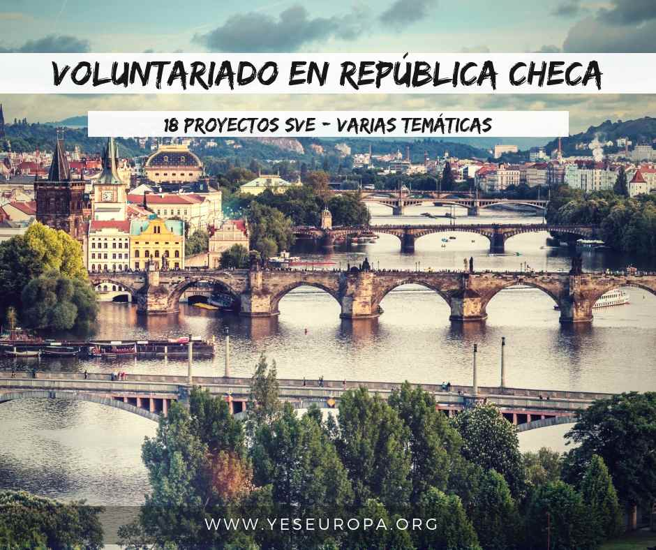 Voluntariado europeo en República Checa