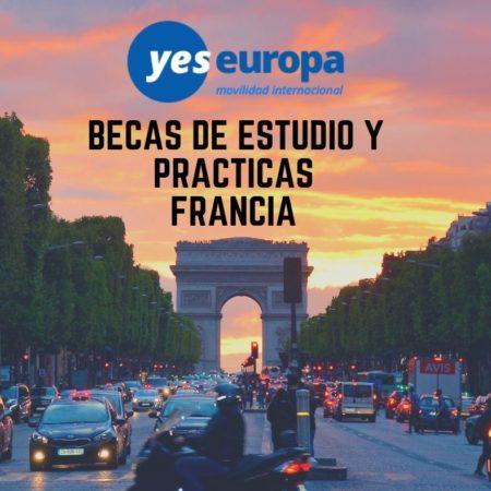Estudiar en Francia con becas AVENIR