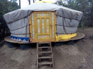summer workcamps spain girona yurta view