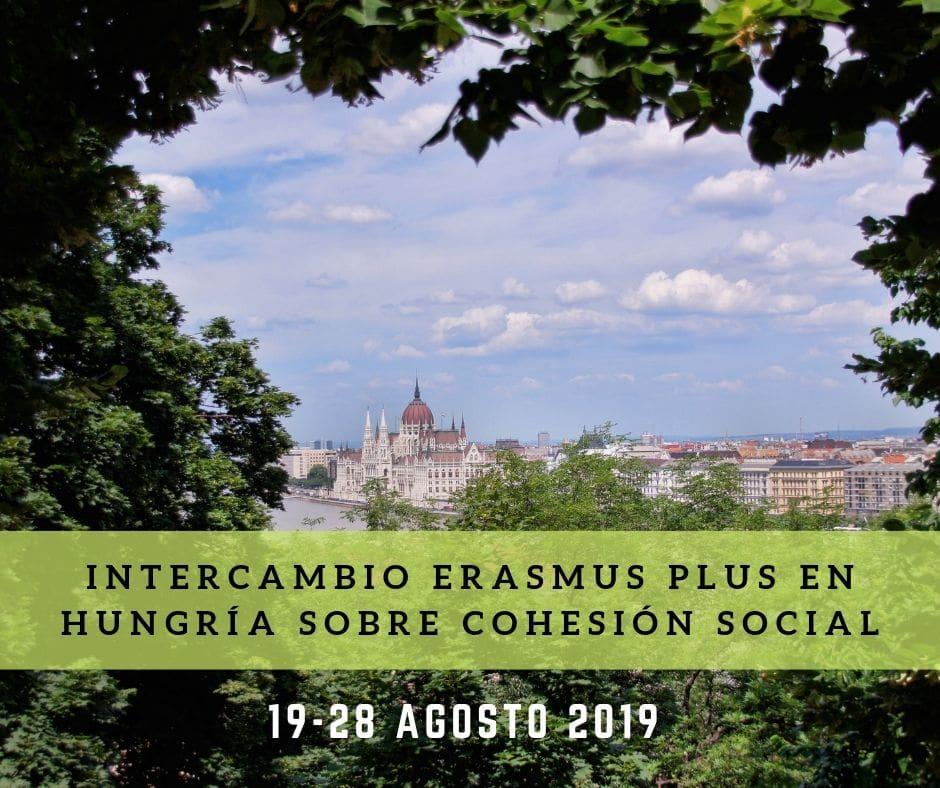 Intercambio Erasmus Plus en Hungría sobre cohesión social