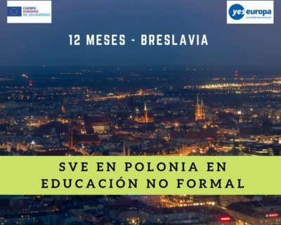 Hacer Voluntariado CES en Polonia (educación no formal)