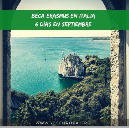 Beca erasmus+ en Sicilia (Italia) de seis días (1 chico)