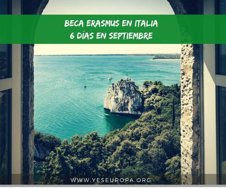 Beca erasmus+ en Sicilia