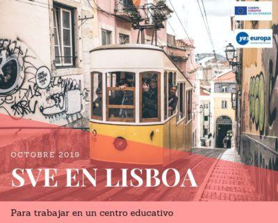 SVE en Lisboa en un centro educativo (Octubre 2019)