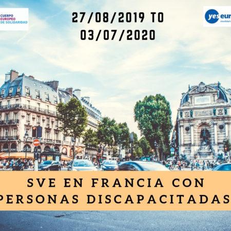 Ser Voluntario SVE en Francia con personas discapacitadas