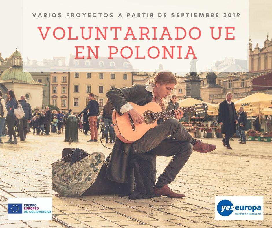 Voluntariado UE Polonia