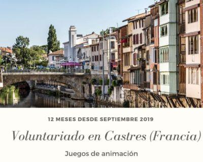 Voluntariado en Castres (Francia) en juegos de animación