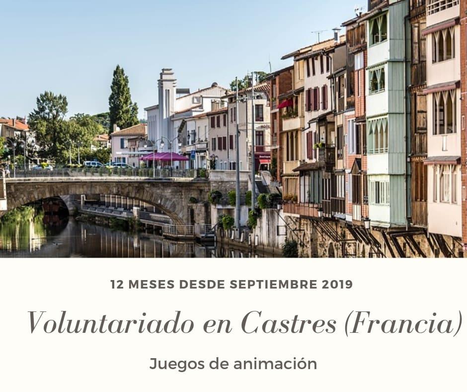 Voluntariado en Castres (Francia)
