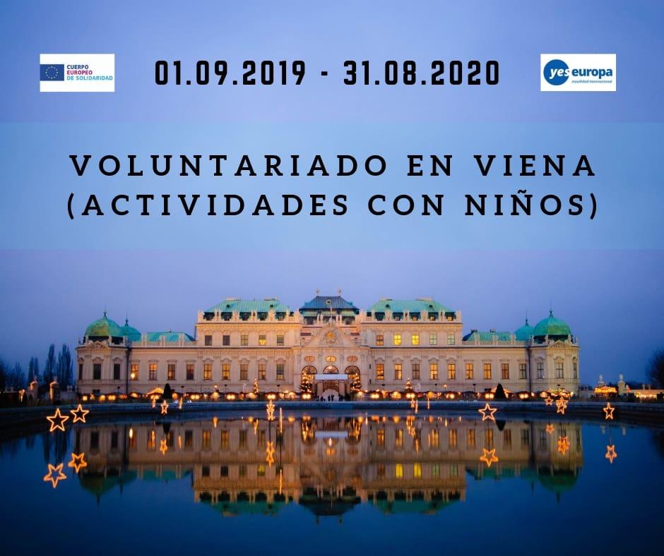 Voluntariado en Viena (actividades con niños)