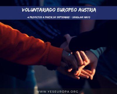 Voluntariado europeo Austria – 4 proyectos
