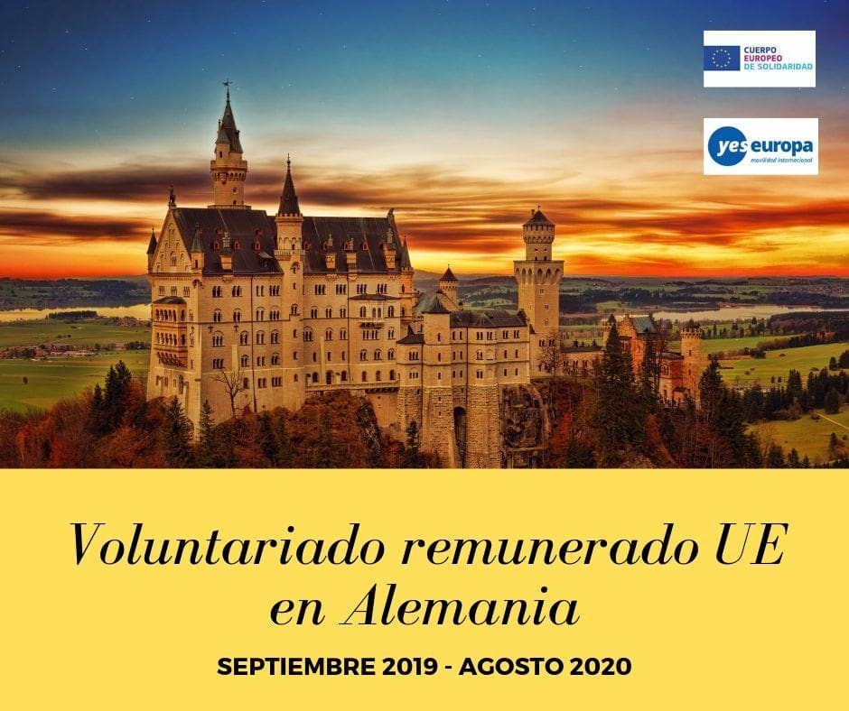 Voluntariado remunerado UE en Alemania