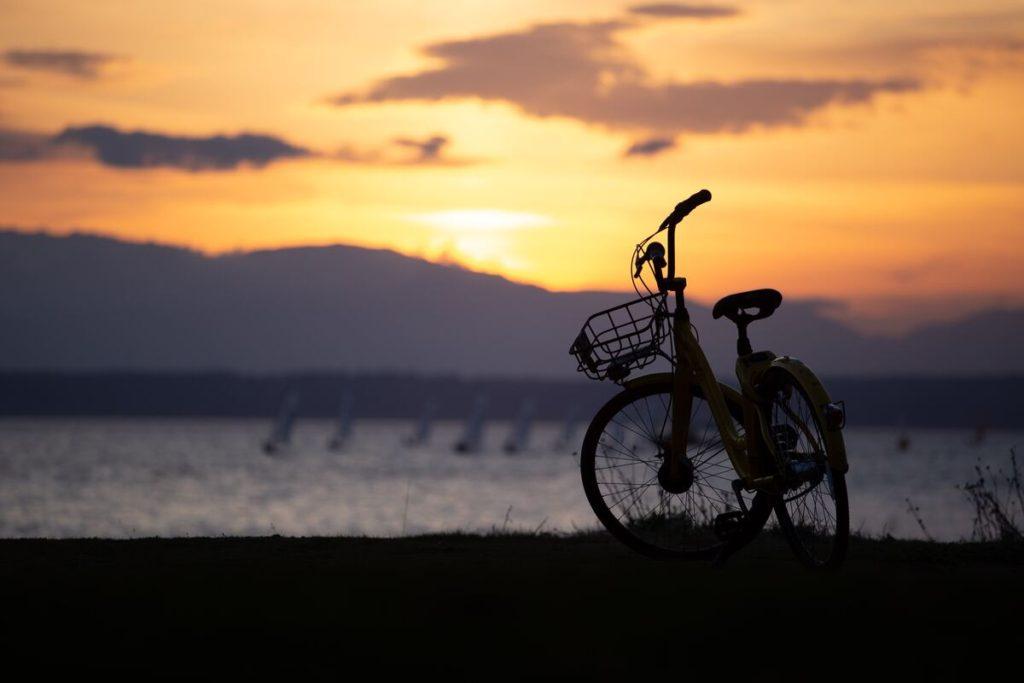 bici por Europa